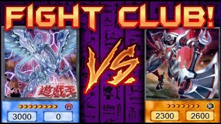 PSYCHIC vs DRAGON - YUGIOH FIGHT CLUB - Week 3 (Mekk-Knights vs Blue-Eyes)