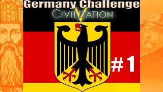Civ 5: Germany NO CITY Challenge (Part One)