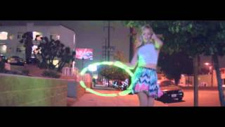 pharrell williams hula hoop girl 24 hours of happy