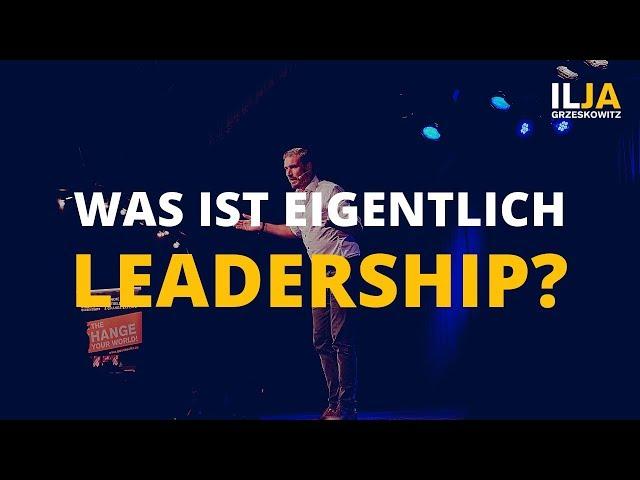 Was ist Leadership? [Führung vs. Management] VLOG #22