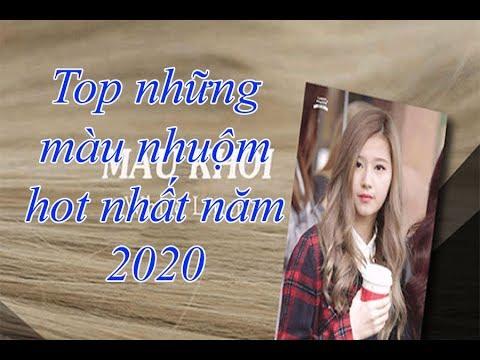 TOP NHỮNG MÀU TÓC NHUỘM HÓT NHẤT NĂM 2020. XU HƯỚNG MÀU NHUỘM NĂM 2020. TOCDEP
