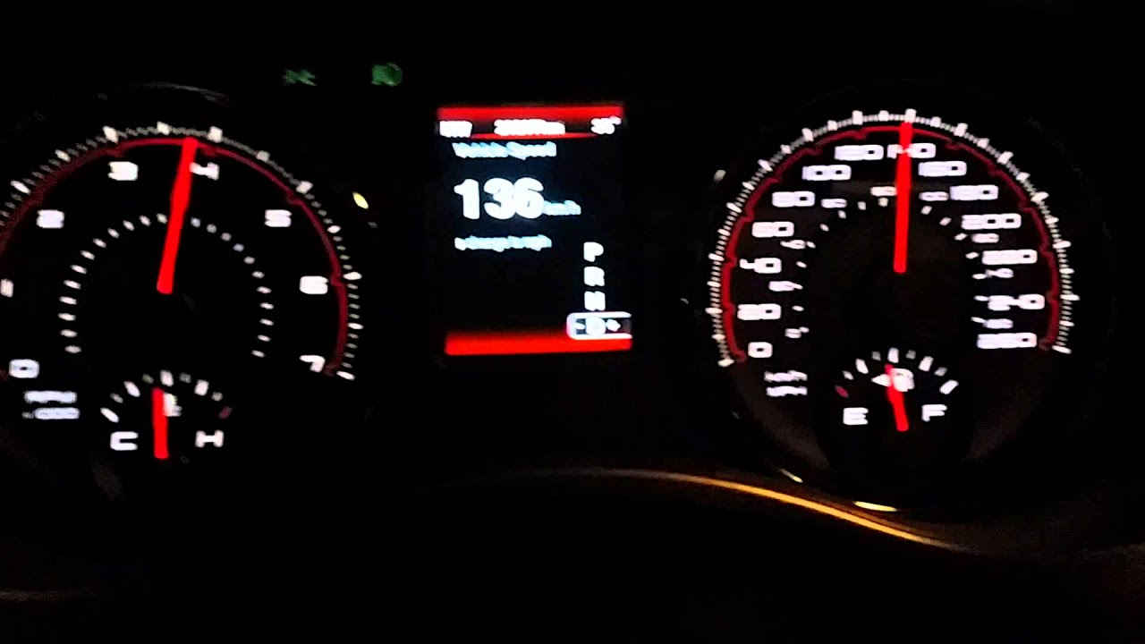 Dodge charger R/T 2014 acceleration 0-208 km/h - YouTube