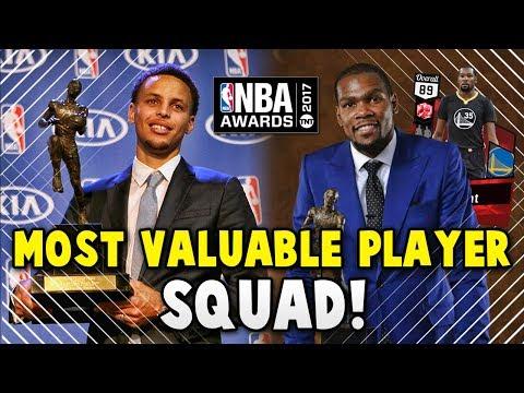 NBA 2K17 MyTEAM MOST VALUABLE PLAYER (MVP)  SQUAD!! | NBA 2K17 MyTEAM AWARDS SQUAD BUILDER