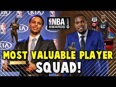 NBA 2K17 MyTEAM MOST VALUABLE PLAYER (MVP)  SQUAD!! | NBA 2K17 MyTEAM AWARDS SQUAD BUILDER