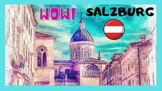 SALZBURG, 12th century spectacular BAROQUE & ROCOCO styles, ST PETER'S church
