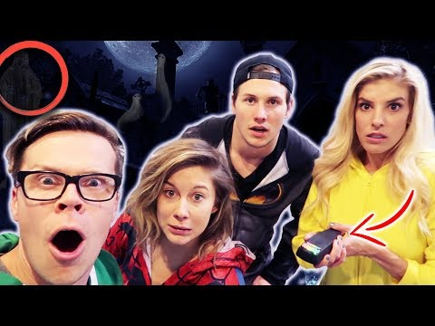 Searching for a Ghost at Our Friend's House Ghosts Caught on Camera Not Clickbait