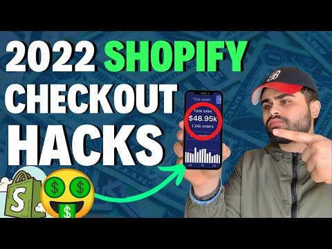 2020 Ultimate SHOPIFY CHECKOUT Hacks!   Increase Your Conversion Rate INSTANTLY!