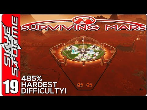 Surviving Mars Gameplay Ep 19 ►THE MARSGATE MYSTERY BEGINS!!◀ 485% HARDEST DIFFICULTY PLAYTHROUGH