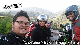 CNY Ride to Panorama, Bukit Tinggi & Lemang To