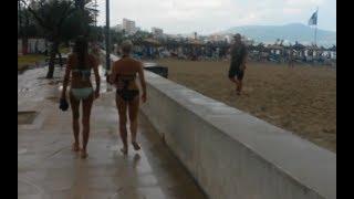 Regen im Cala Miller / Wetter auf Mallorca