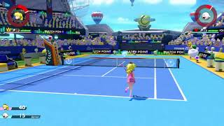Swing and a miss fail with jayden (Mario Tennis Aces)