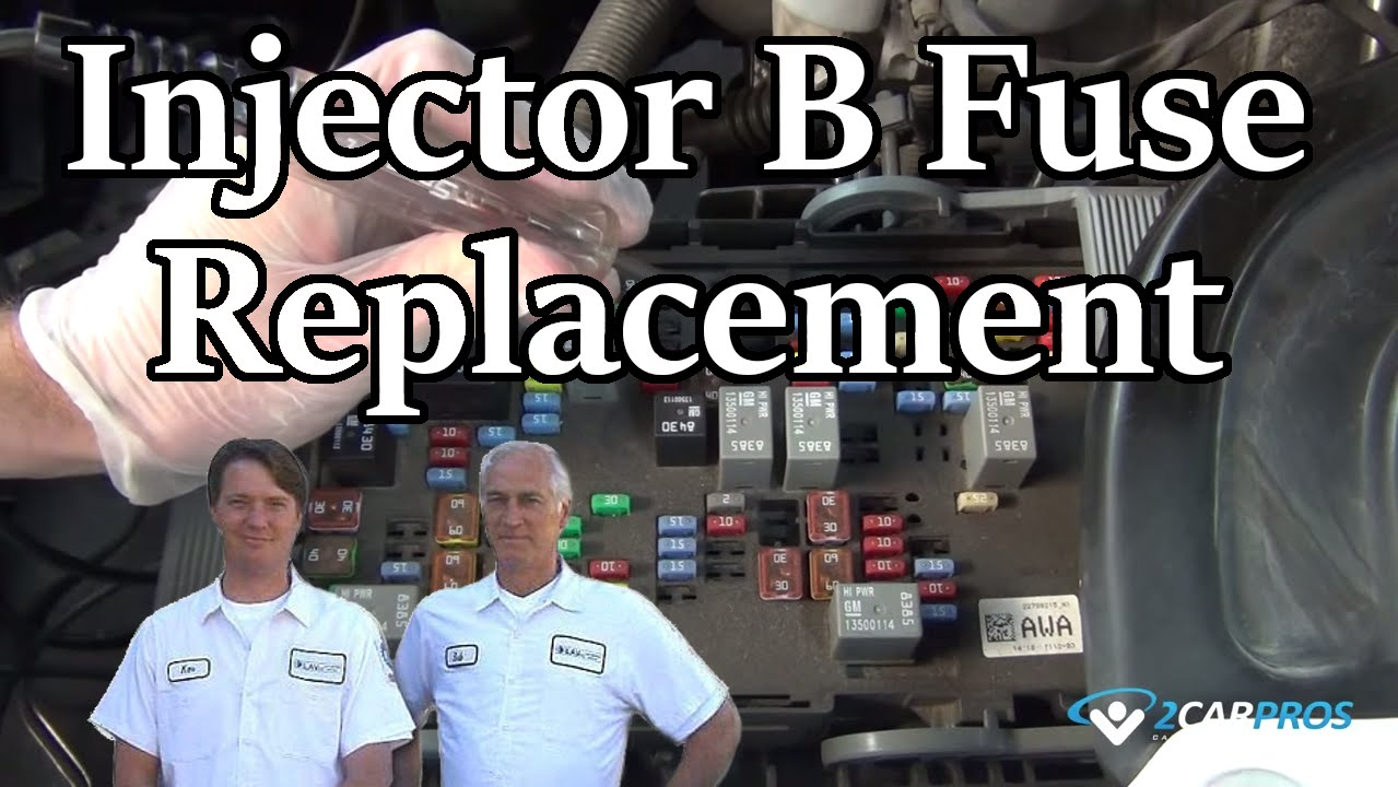 Injector B Fuse Replacement Youtube 1991 Chrysler New Yorker Box Premium