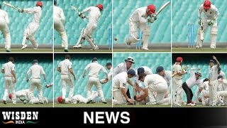 Sombre day in Australian cricket after Phil Hughes