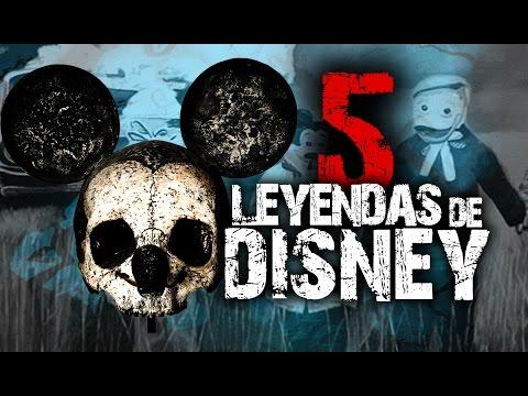 5 Extrañas leyendas urbanas de Disney│MundoCreepy│NightCrawler