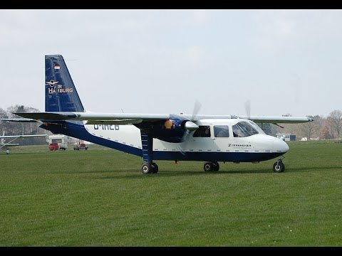 LP Airplane Britten-Norman BN-2 Islander