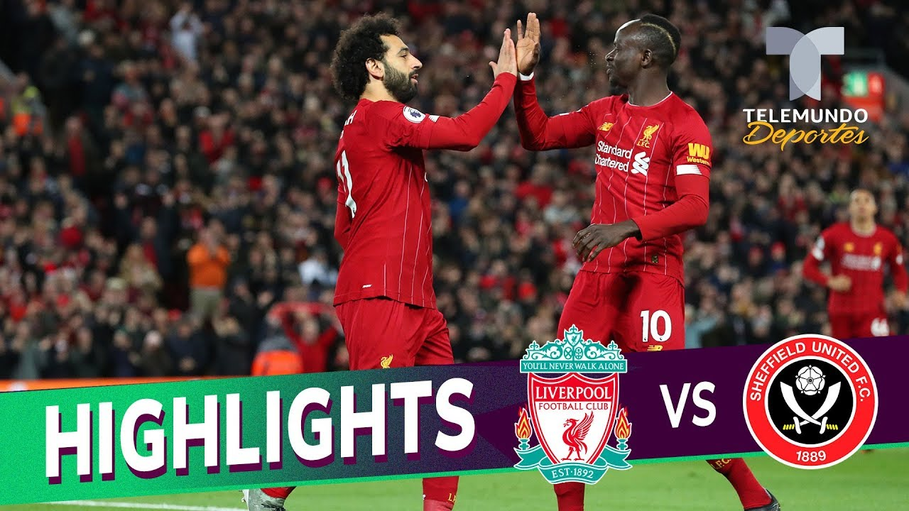 Liverpool Vs Sheffield United 2 0 Goals Highlights
