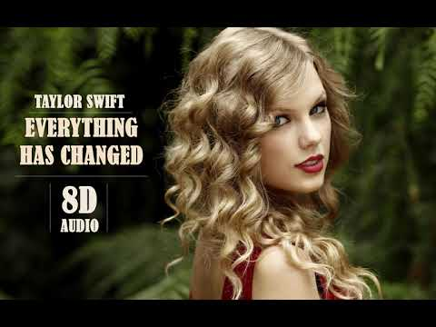 Taylor Swift - Everything Has Changed ft. Ed Sheeran | 8D Audio || Dawn of Music ||