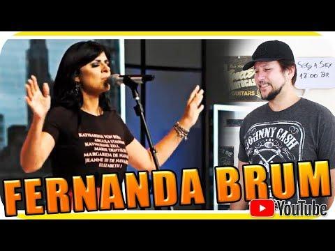 FERNANDA BRUM - AQUELE GRAVE PROFUNDO Gospel - Marcio Guerra