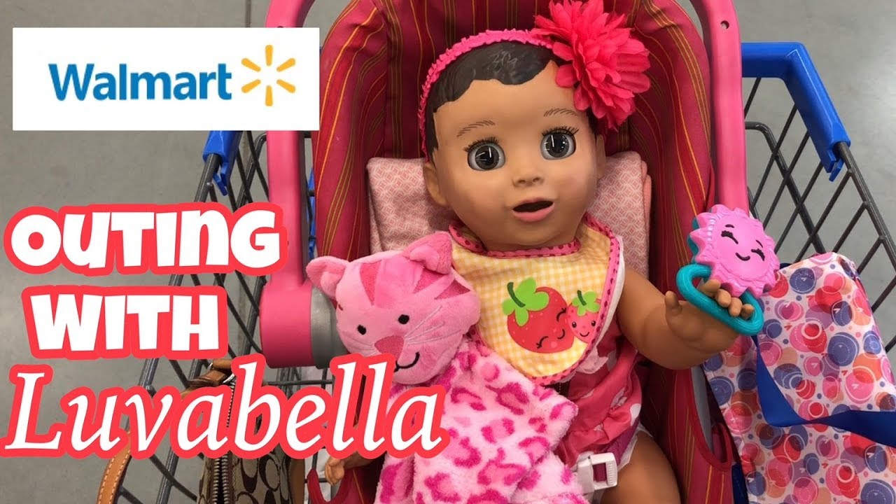 Luvabella Baby Outing To Walmart Toys And Baby Items Robot