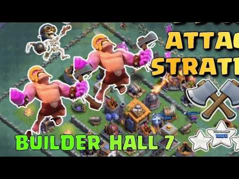 clash of clans BH7 mix attacks