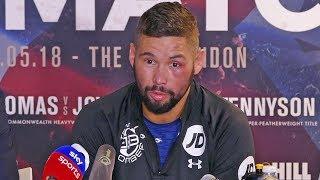 Tony Bellew POST FIGHT PRESS CONFERENCE vs David Haye - The Rematch