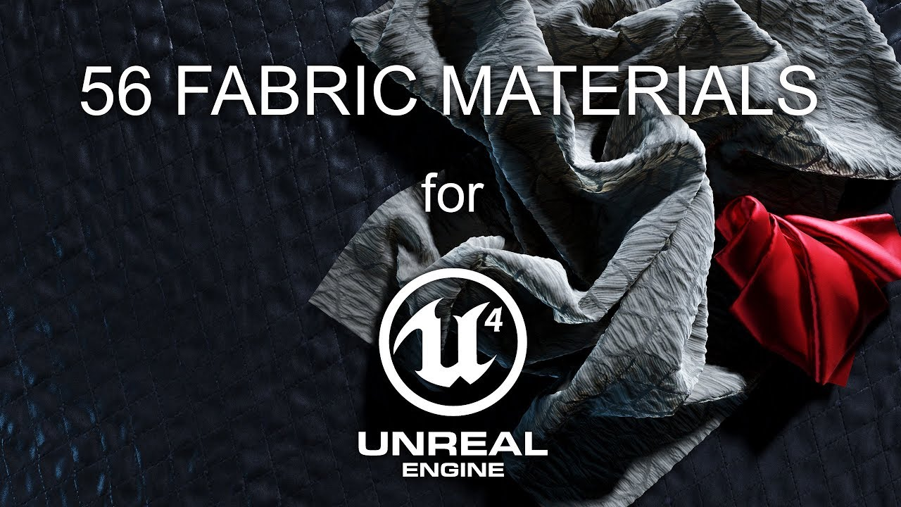 Download 56 free PBR fabric materials for Unreal Engine | CG