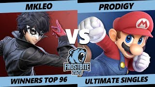 Frostbite 2020 SSBU Winners Top 96 - MkLeo (Joker) Vs. Armada | Prodigy (Mario) Smash Ultimate