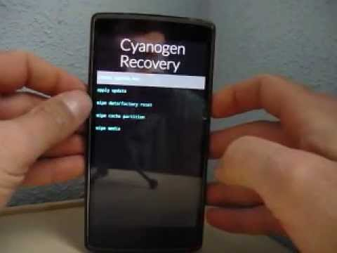 OnePlus One - Recovery Mode - Modo Recovery