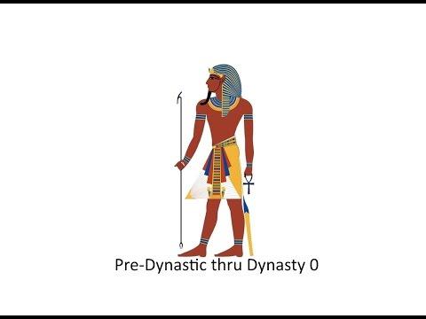 Pre-Dynastic thru Dynasty 0