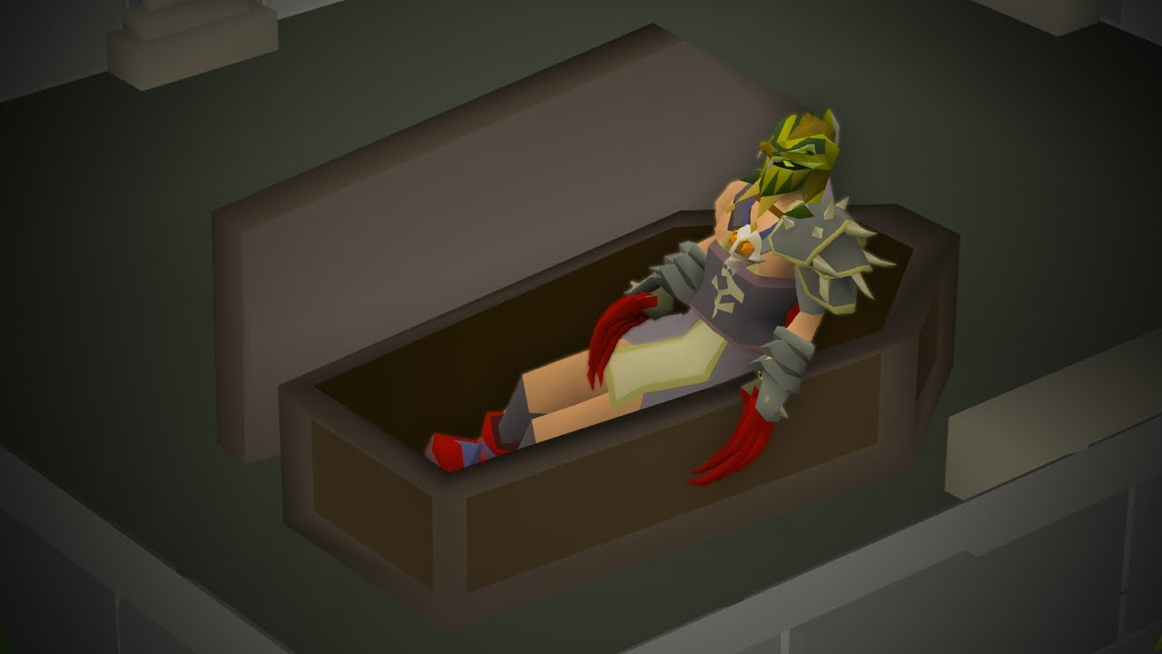 After a Year, this Account is finally back on Runescape