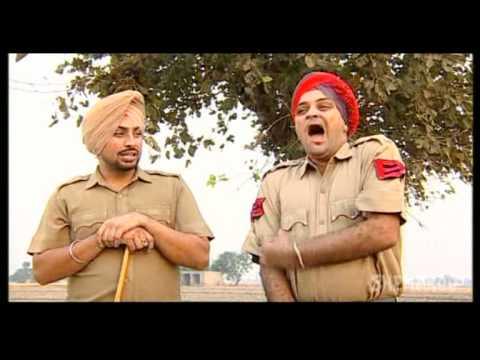 Old Lady Beats Policemen - Punjabi Funny...