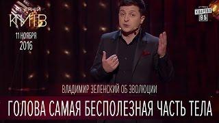Голова самая бесполезная часть тела - Владимир Зеленский об эволюции | Вечерний Киев 2016