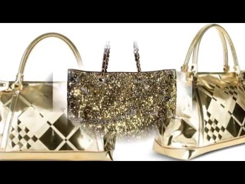 Яркие золотые сумки смотреть онлайн