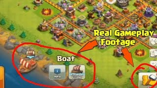 CLASH OF CLANS GAMEPLAY UPDATE LEAKED! Clash of Clans Boat Footage Leaked