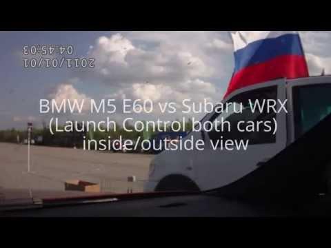 BMW M5 E60 vs Subaru WRX