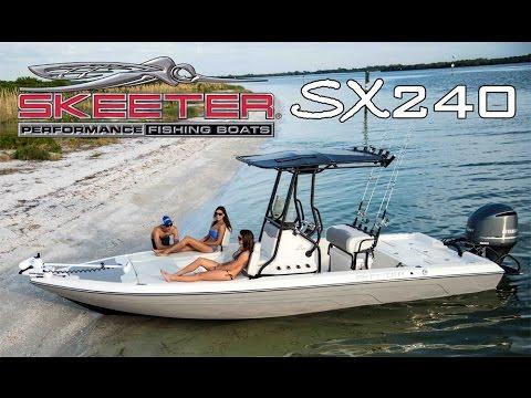 Skeeter Bay Boat SX240 Center Console Saltwater Fishing Machine