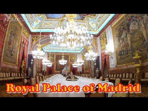 🚄EP108 Royal Palace of Madrid 👑Palacio Real de Madrid Spain 🚆Eurail Global Pass Walk 🇪🇸マドリード 王宮 スペイン