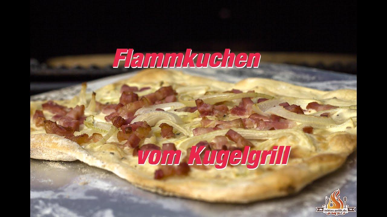 Flammkuchen Weber Holzkohlegrill : Der beste flammkuchen gelingt immer vom weber kugelgrill pizza