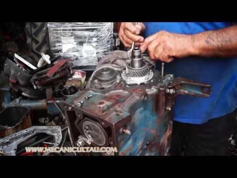 CUM SE MONTEAZA MECANISM DISTRIBUTIE MOTOR 506 D - TRACTOR FIAT 315.