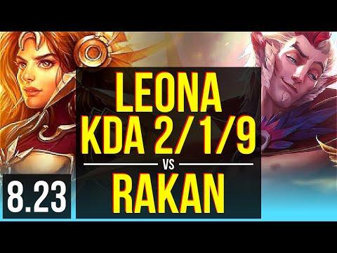 LEONA & Caitlyn vs RAKAN & Xayah (SUPPORT) | KDA 2/1/9 | Korea Master | v8.23