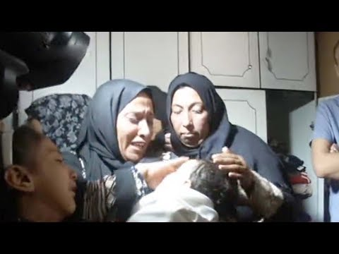 Family in agony after 8-month-old baby dies from tear gas at Gaza protest