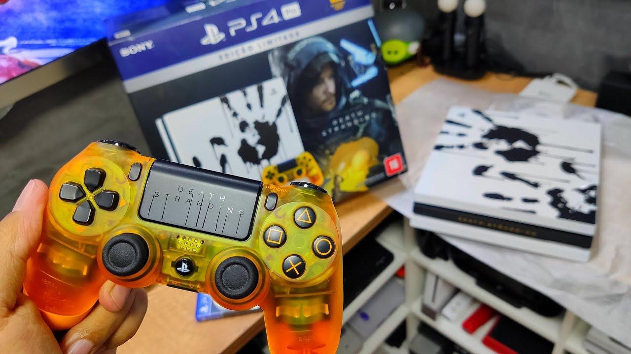 PS4 PRO DEATH STRANDING | UNBOXING PT-BR