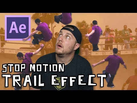 After Effects Tutorial - Stop Motion Trail Effect