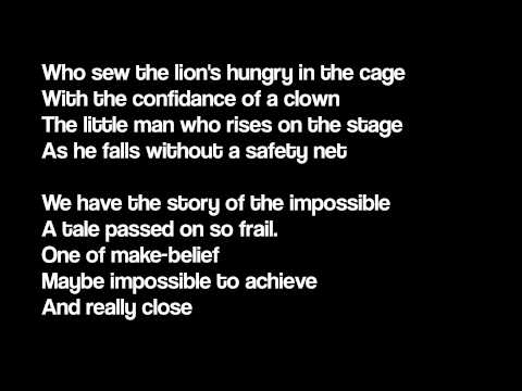 The Story Of Impossible - Peter Von Poehl (Lyrics)