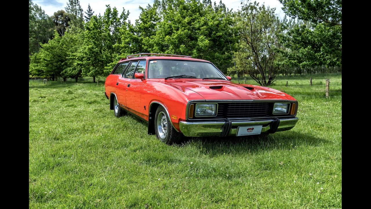 1977 Ford Fairmont Stationwagon V8 Video Waimak Classic Cars