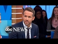 Ryan Reynolds talks about his role in the new film 'Life' live on 'GMA'