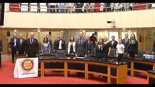 Rotary Internacional recebe homenagem do Parlamento