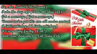 Katy Perry Cozy Little Christmas Letra
