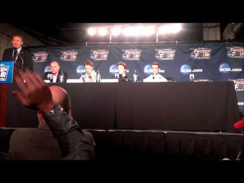 Union College Press Conference: Frozen Four Semifinals Practice (4/9/14)