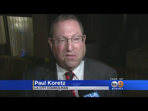 Councilman Paul Koretz Joins Seniors In Fighting Eviction Notices At Westwood Retirement Home